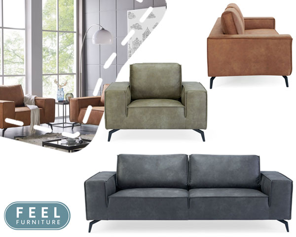Feel furniture weston sofa's