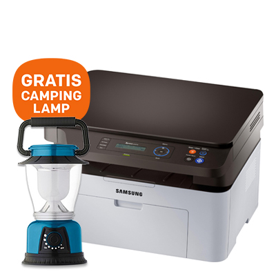 HP Xpress SL-M2070 Multifunctionele laserprinter - GRATIS camping lamp