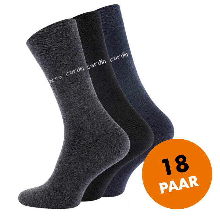 Pierre Cardin - 18 paar herensokken, business socks