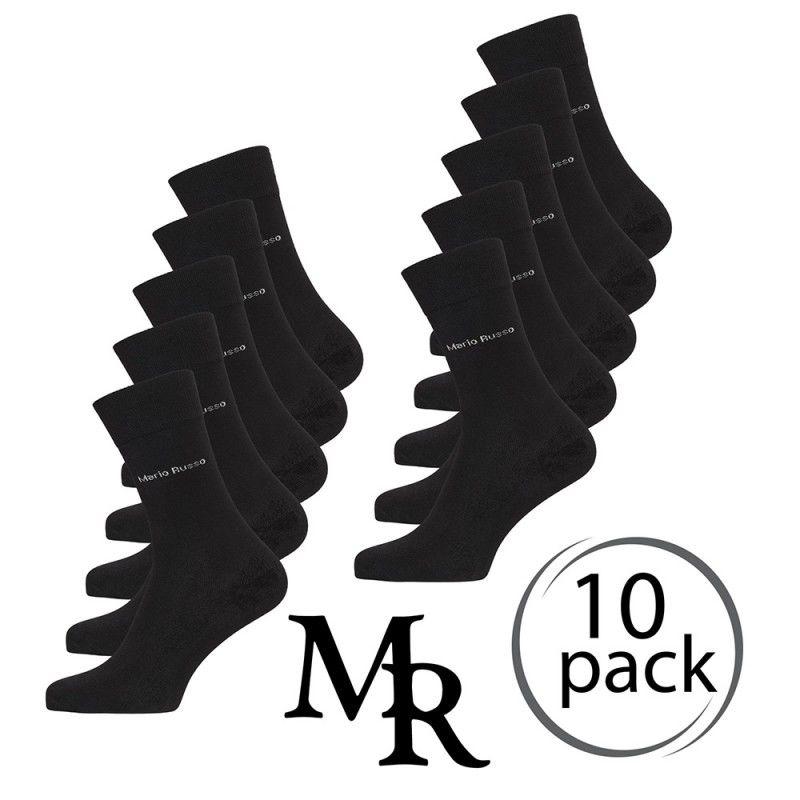 10 Pack bamboe sokken van Mario Russo