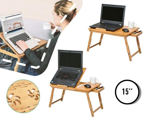 Bamboe laptoptafel