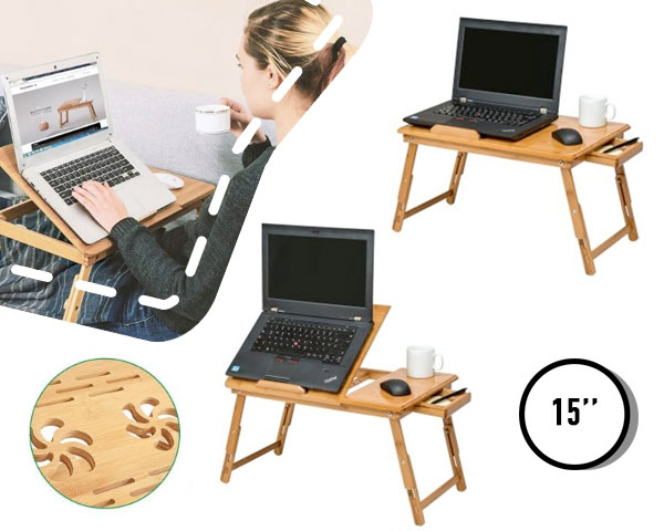 Bamboe laptoptafel