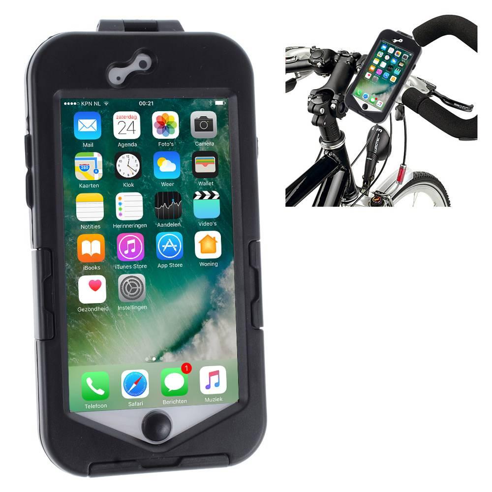 iPhone 7 Fietshouder Zwart