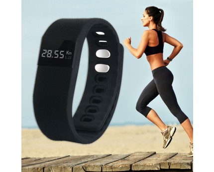 Activity Tracker Pedometer: multifunctionele Bluetooth Polsband