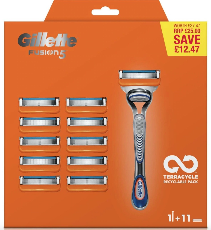 Gillette Fusion5 Scheersysteem incl 11 Mesjes