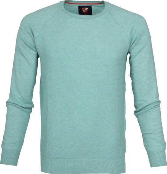 Casual Overhemd S3-5 Wit Blauw