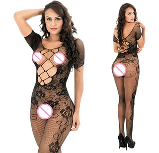 Sexy Lingerie Set zwart